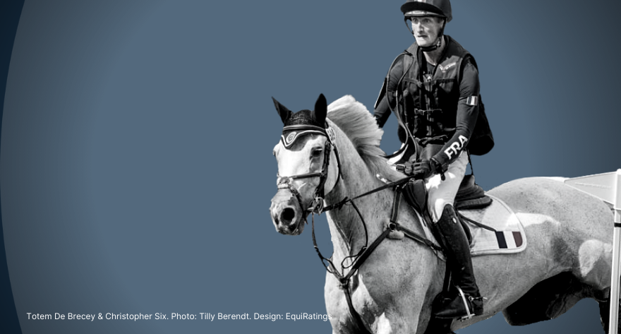 Five Star Debutants to Watch For 2021 - EquiRatings Eventing Elo - Totem De Brecey and Christopher Six