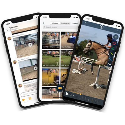 EquiRatings OnForm App for Equestrian Online Coaching Horse Sport