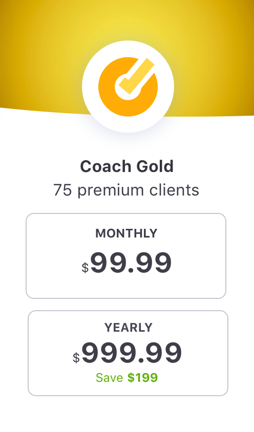 EquiRatings OnForm App for Equestrian Online Coaching in Horse Sport Coach Gold Package Price