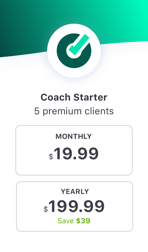 EquiRatings OnForm App for Equestrian Online Coaching in Horse Sport Coach Starter Package Price