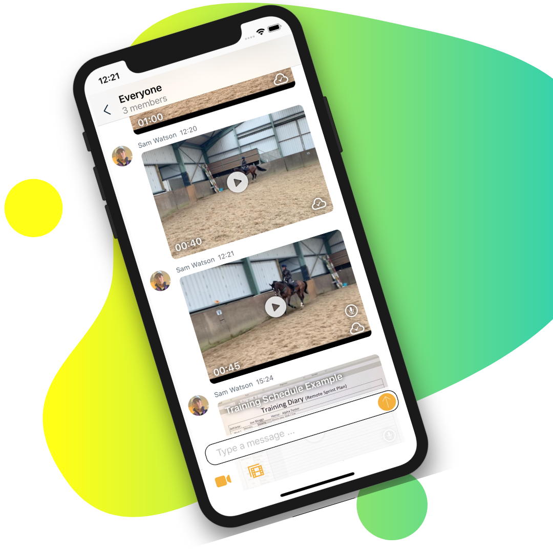 EquiRatings OnForm App for Equestrian Online Coaching in Horse Sport the New Normal