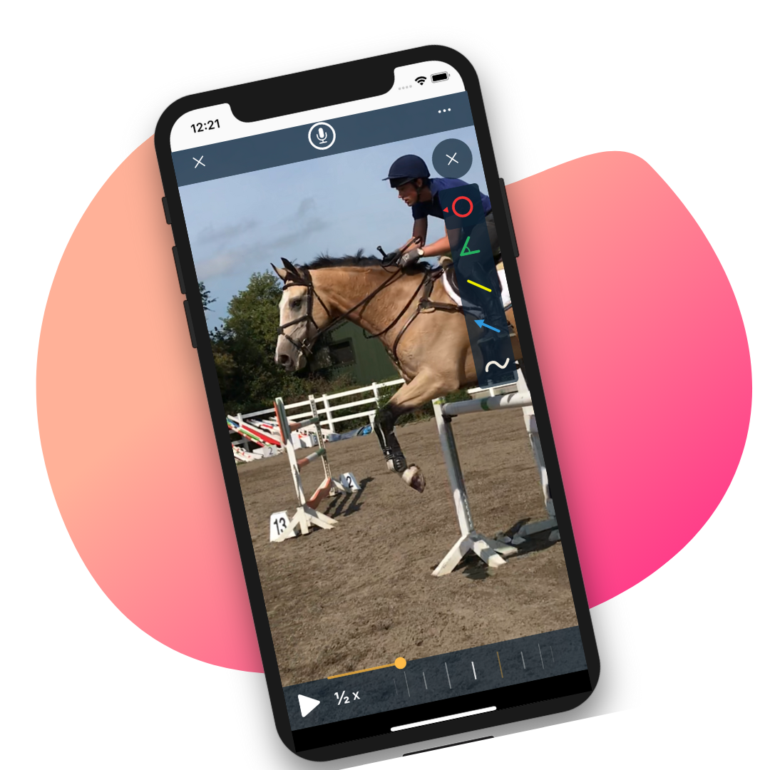 EquiRatings OnForm App for Equestrian Online Coaching in Horse Sport