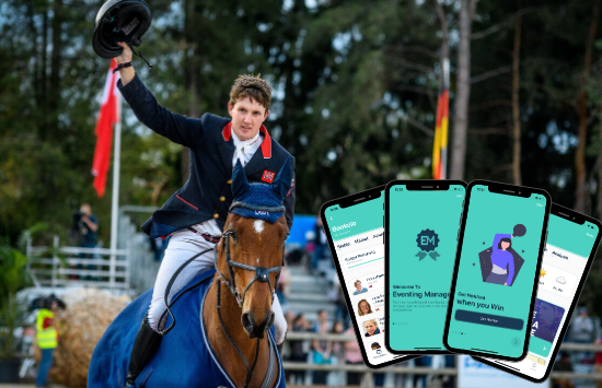 EquiRatings Tom McEwen Eventing Manager Game App Equestrian Eventing Horse Sport Data Analysis and Fan Engagement Let the Game Begin